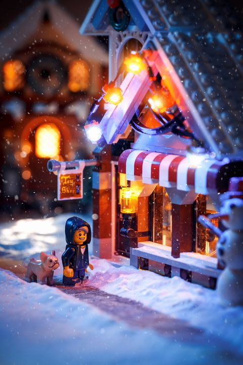 Christmas Time - Lego prints