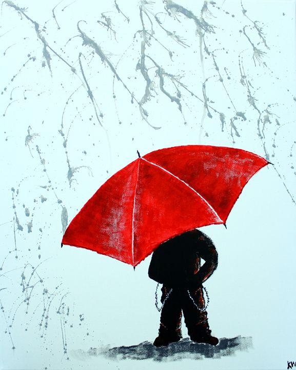 A Little Goth In The Rain - Kris W