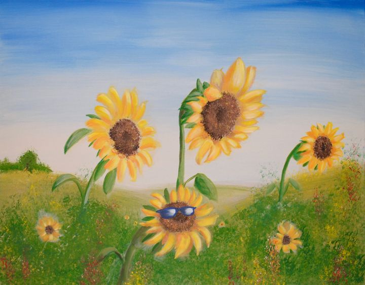 Cheeky Sunflower - Kris W