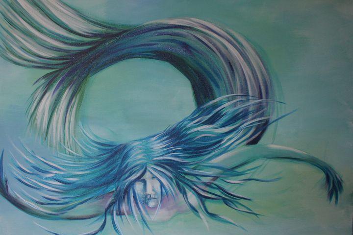 Blue Mermaid - Kris W