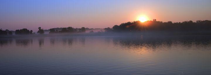 Foggy Sunrise - Dale Hall Photo Artisry