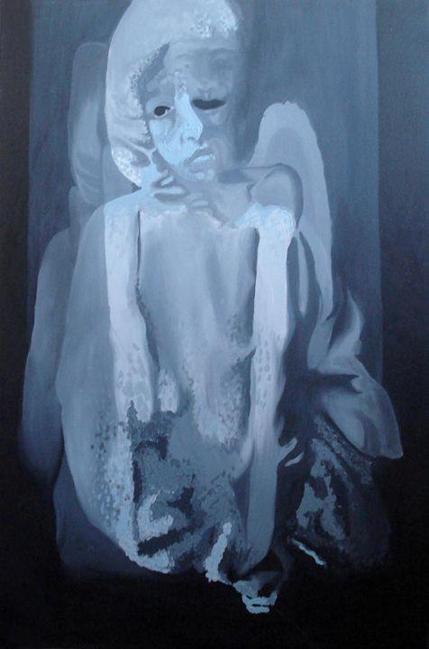 Last sight of an abandoned child - IOANA'Art