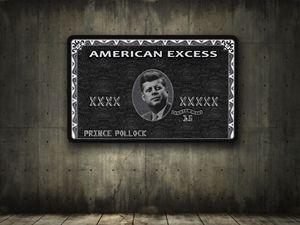 American Excess - JFK in Black