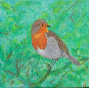Robin for my Grandmother