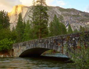 Bridge to Half Dome
