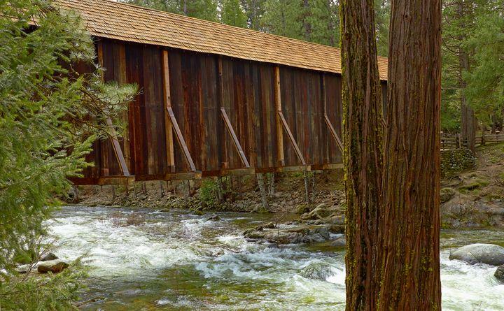 Covered Bridge - Tiffany Layne Gallery