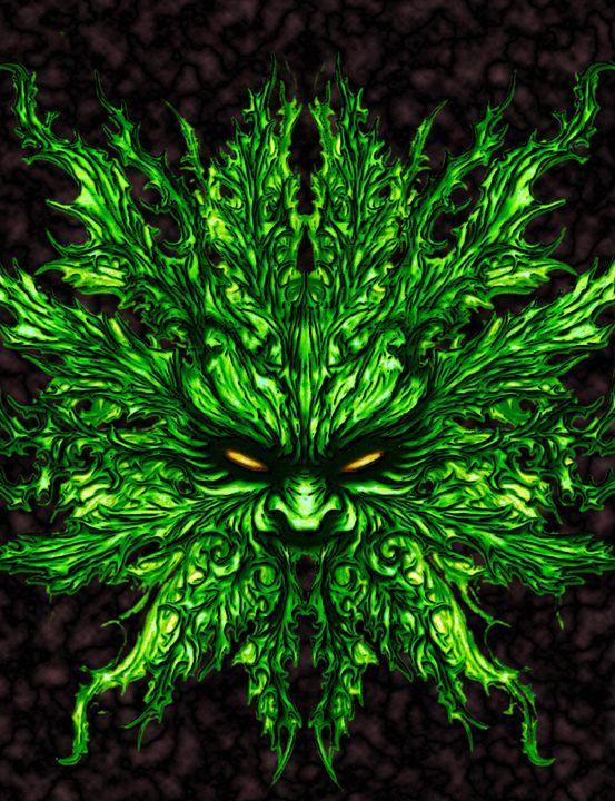 Evil greenman - Skullianz