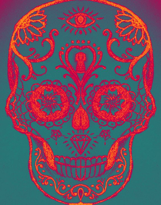 Skullianz Sugar Skull - Skullianz