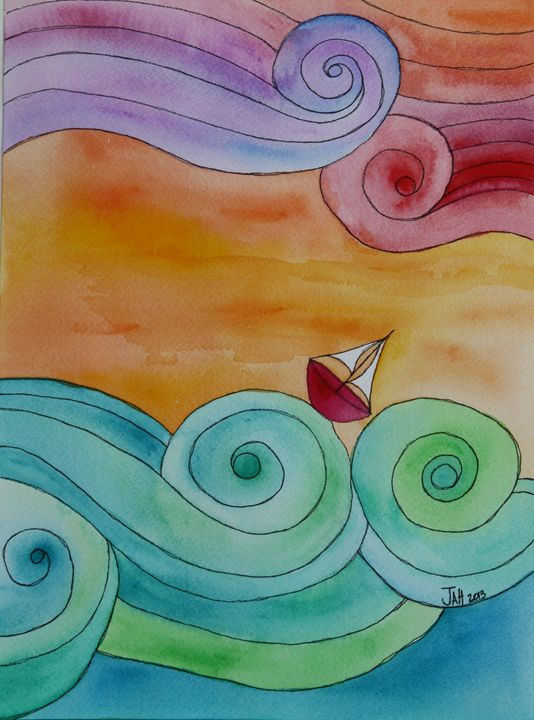 Stormy Seas - jessicaanneli