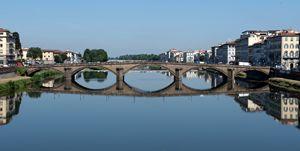 Ponte alla Carraia - Florence, Italy
