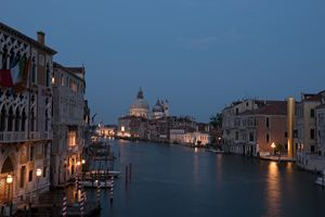 The Grand Canal, Venice at Night
