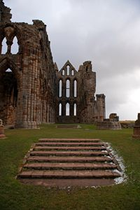 Whitby Abbey Steps - MonksArt