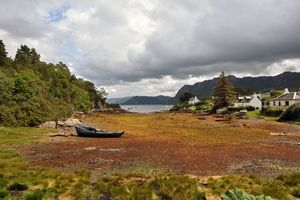 Low Tide in Plockton - MonksArt