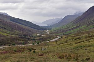 Road to Loch Maree - Wester Ross