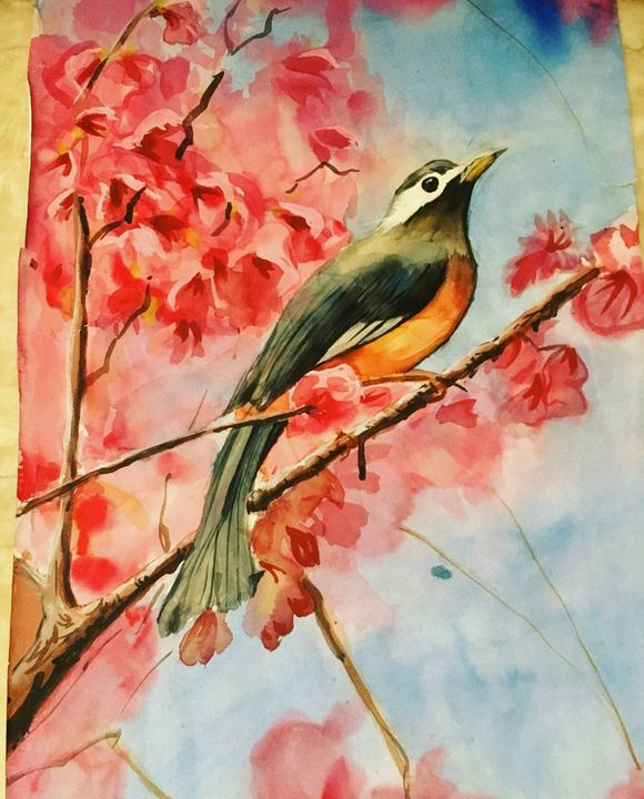 Lost bird - T & S artwork