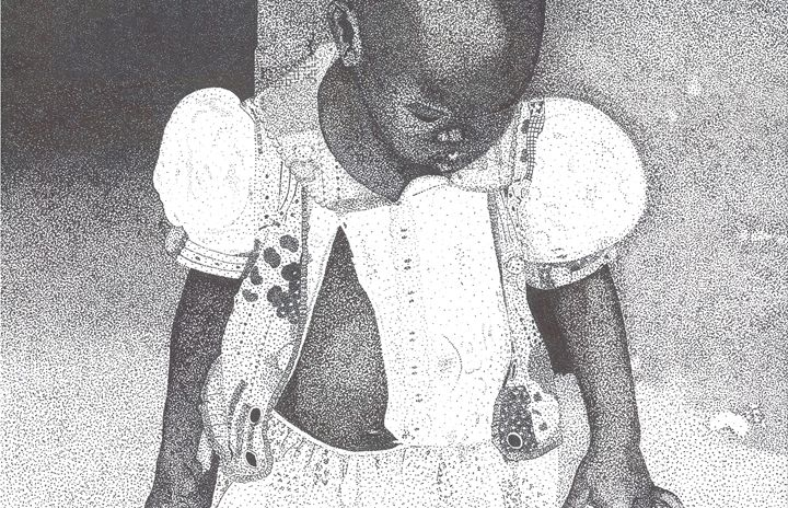 African Child - Cashlynn Jaggers Art