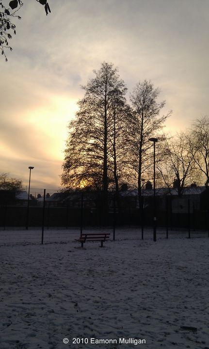 Bench Watching The Sunset - Eamonn Mulligan
