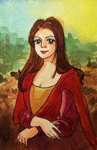 Stylism Mona Lisa