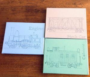 Train Drawings