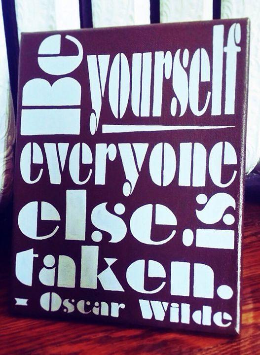 Oscar Wilde quote - dahlquaa