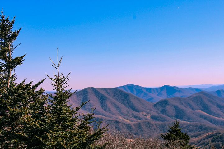 Smoky Mountains view - Nolyn Wise Photographs