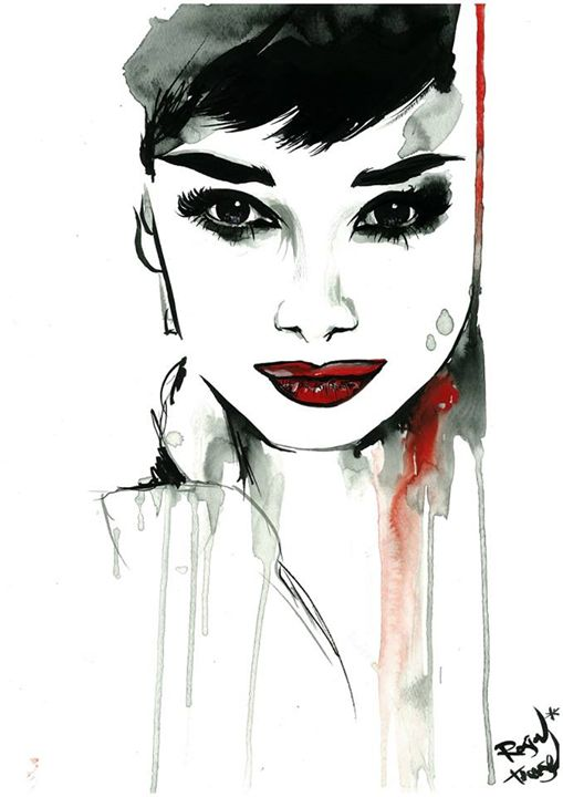Audrey - Therese Rosier Art