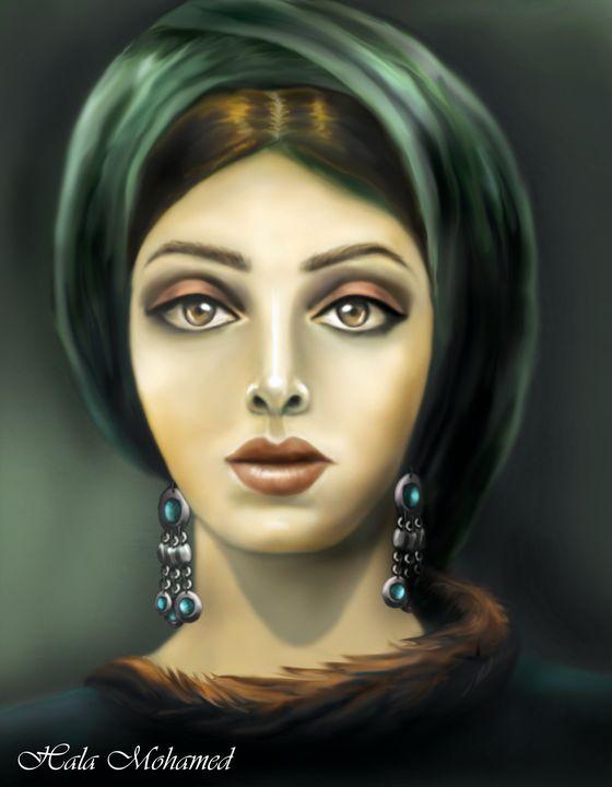 the sad beauty - women