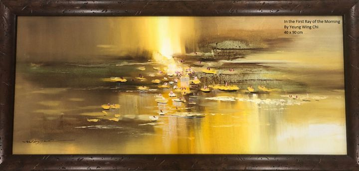 In the First Ray of the Morning - Fine Art Collectors Gallery