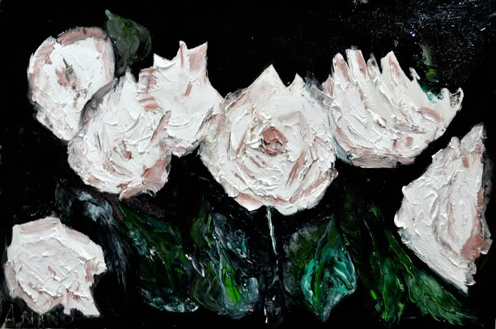 ROSES - ANAND PAINTINGS