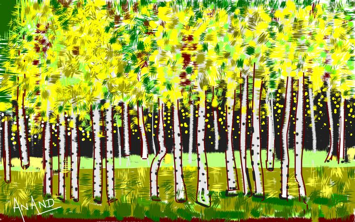 LANDSCAPE-7 - ANAND PAINTINGS