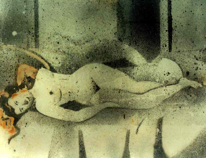 EROTIC MOOD-2 - ANAND PAINTINGS