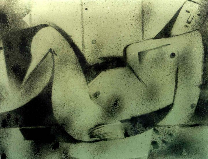 RECLINING NUDE - ANAND PAINTINGS