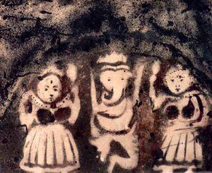 GANESHA WITH SIDHI AND BUDHI