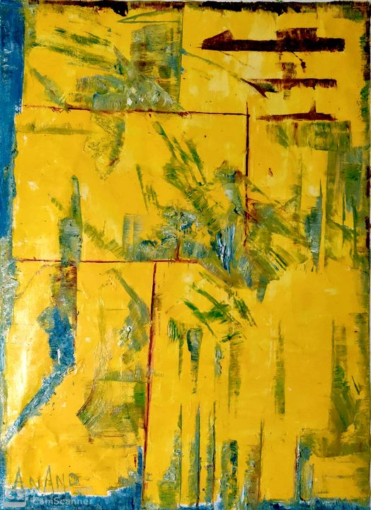 PURE ABSTRACT-5 - ANAND PAINTINGS