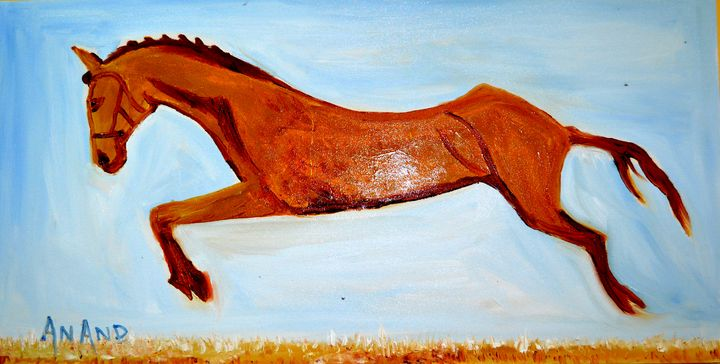 MY FAVORITE HORSE - ANAND PAINTINGS