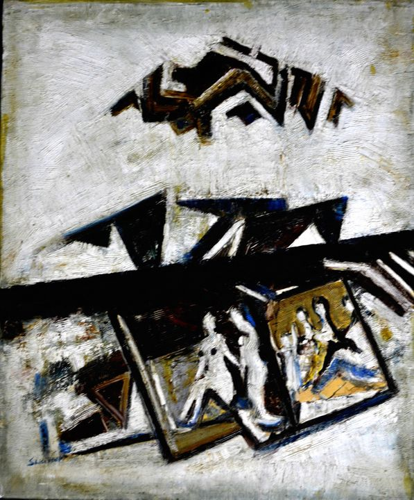 ABSTRACT-5 - ANAND PAINTINGS
