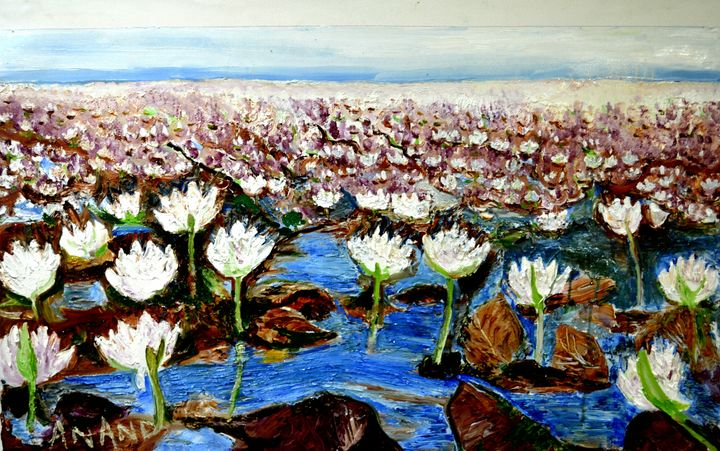 VALLEY OF FLOWERS-5 - ANAND PAINTINGS