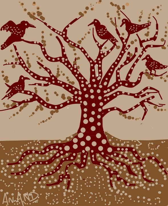 THE KIND TREE - ANAND PAINTINGS