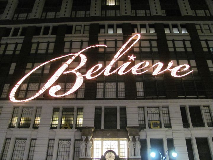 Believe - Denim Burkhardt House