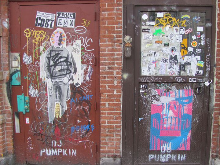 Artists Entrance Only - Denim Burkhardt House