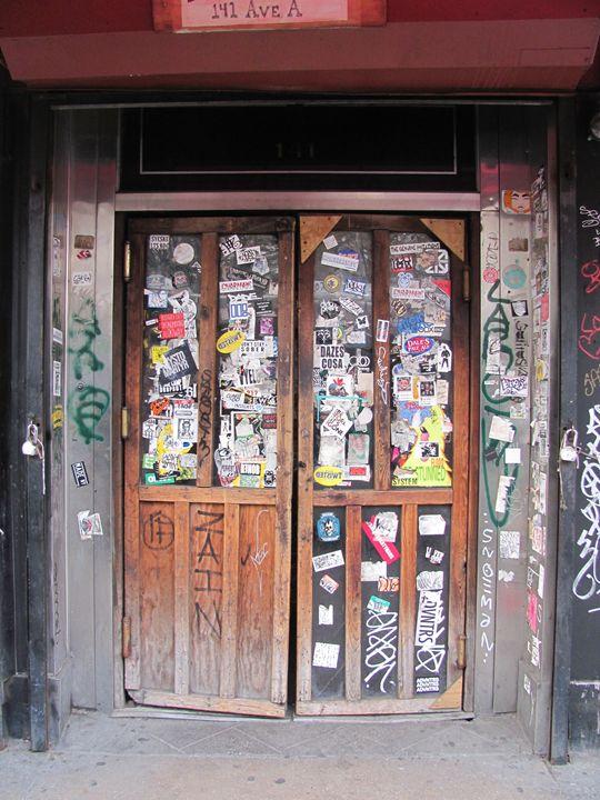 Doc's Door - Denim Burkhardt House