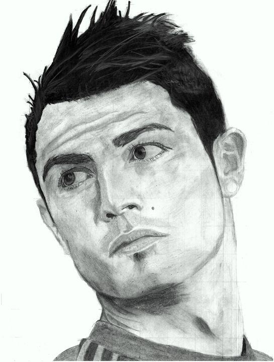 Cristiano Ronaldo - Kedar's Portraits