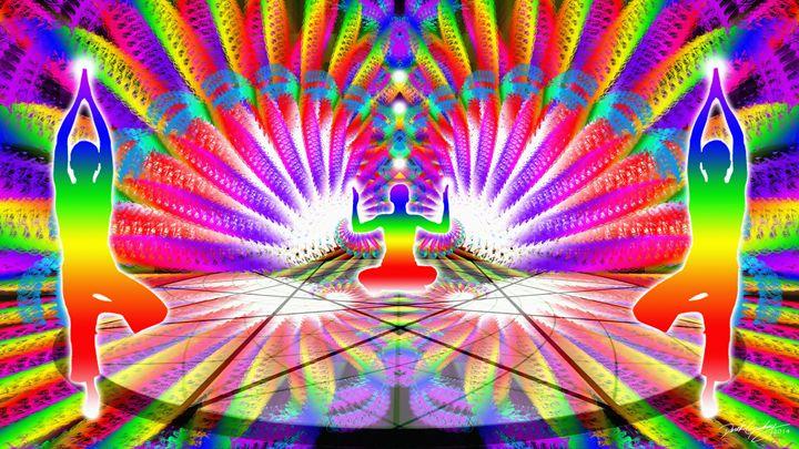Cosmic Spiral Ascension 40 - SacredLife Arts