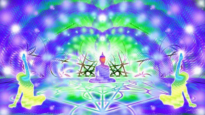 Cosmic Spiral Ascension 41 - SacredLife Arts