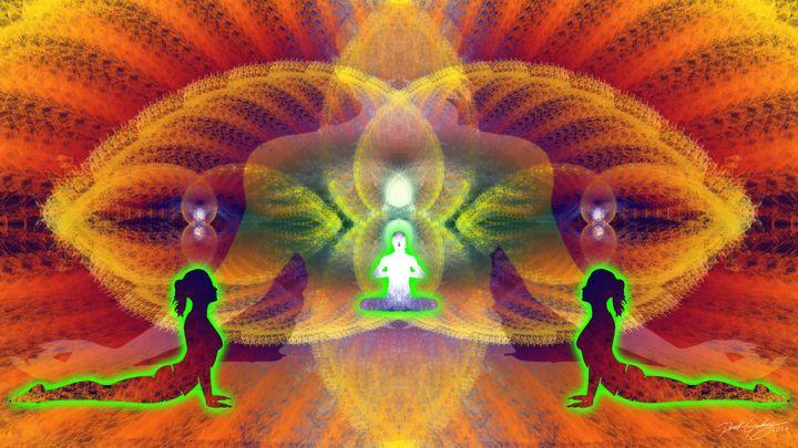 Cosmic Spiral Ascension 45 - SacredLife Arts