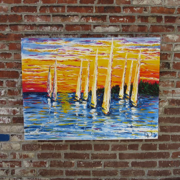 Sails and sunset - MEDArts