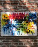 Original palette knife abstract
