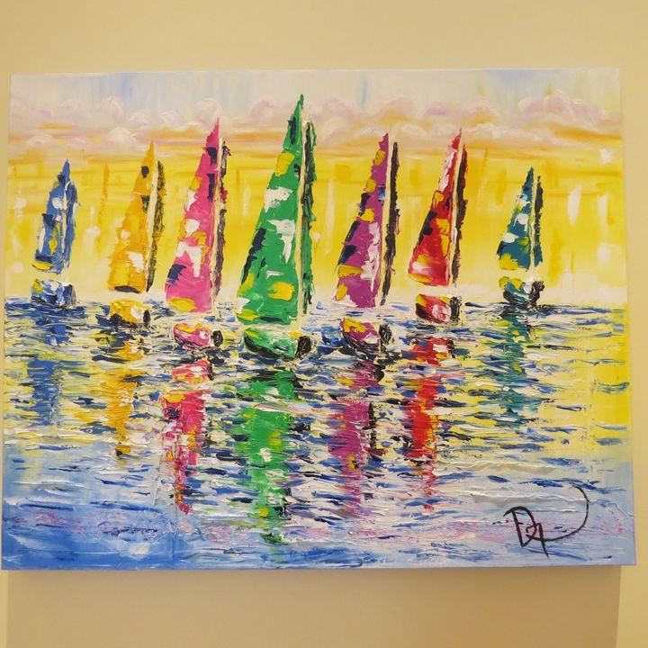Sailing in the morning - MEDArts