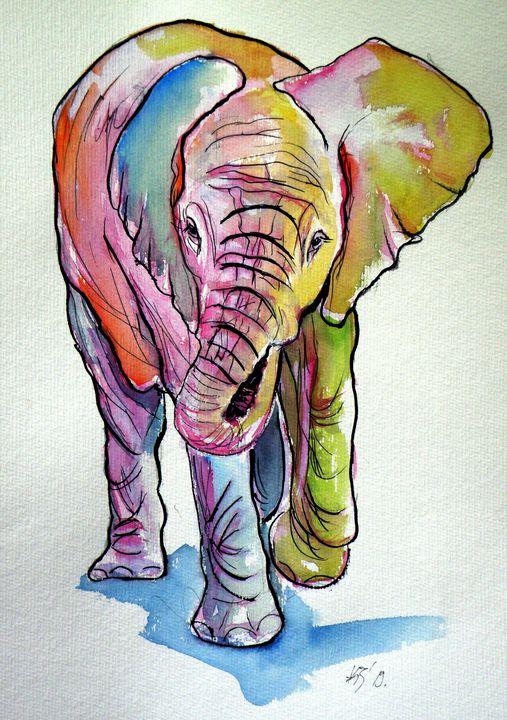 Elephant baby - kovacsannabrigitta