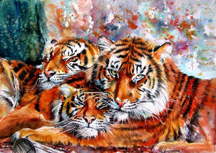 Tigers - kovacsannabrigitta
